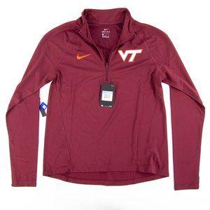 NWT NIKE Virginia Tech Hokies Maroon HZ Core